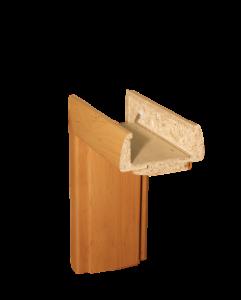 Detail obložkové zárubně