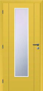 Lakované dveře RAINBOW, pískově žlutá barva
