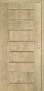 Interiérové dveře STYL vpovrchové úpravě SOLO 3D, dub přírodní