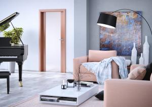 Interiérové dveře SONET vpovrchové úpravě CPL olše