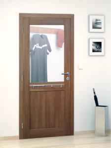 Interiérové dveře se zrcadlovou výplní
