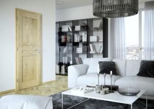 dveře obývací pokoj