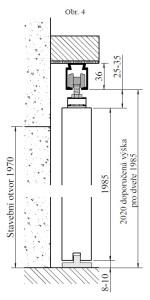Obrazek 4 posuvne dvere na zed