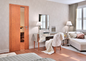 Interiérové bezfalcové dveře