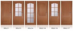 Rámečky dveří SOLO