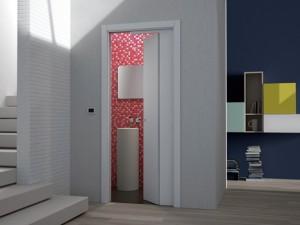 eclisse Stavební pouzdro pro posuvně-otočné dveře NOVANTA