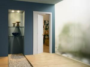 Stavební pouzdro pro posuvně-otočné dveře NOVANTA eclisse