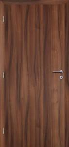 Protihlukové dveře v povrchu Folie - ořech
